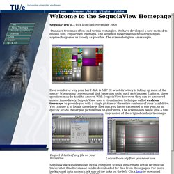 The SequoiaView Homepage