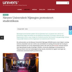 Nieuwe Universiteit Nijmegen protesteert studentikoos