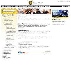Univ. Utrecht: Universiteitsraad