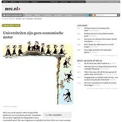 Universiteiten zijn geen economische motor
