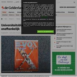 Universiteitsblad Vox is weer onafhankelijk
