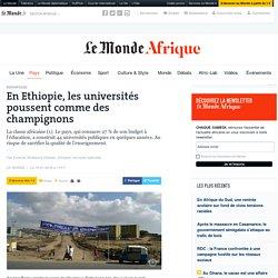 En Ethiopie, les universités poussent comme des champignons