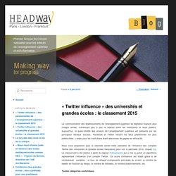«Twitter influence» des universités et grandes écoles : le classement 2015