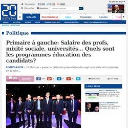 Primaire à gauche: Salaire des profs, mixité sociale, universités… Quels sont les programmes éducation des candidats?