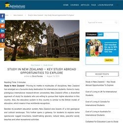 Study in New Zealand : Courses, Universities, Application, Visa