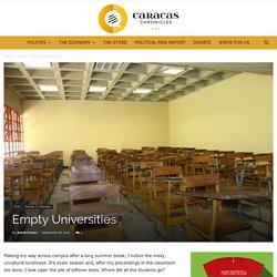 Empty Universities