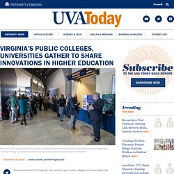 Virginia's Public Colleges, Universities Gather to Share Innovations in Higher Education