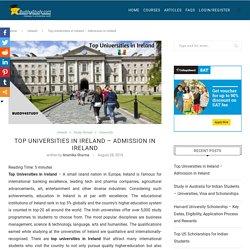 Top Universities in Ireland - Universities, Courses, Tuition fees