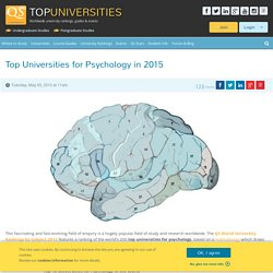 Top Universities for Psychology in 2015