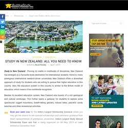 Study in New Zealand: Courses, Universities and Scholarships in NZ