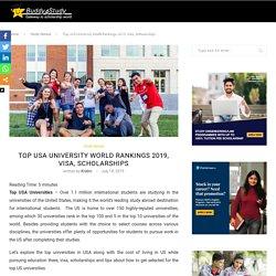 Top USA Universities - Rankings, Application tips, Visa, Scholarships