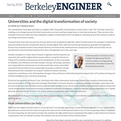 Universities and the digital transformation of society