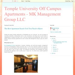 Temple University Off Campus Apartments - MK Management Group LLC: The Best Apartment Search Tool You Need to Know