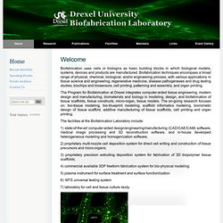 University Biofabrication Lab