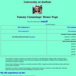 University at Buffalo - Default User Web Page