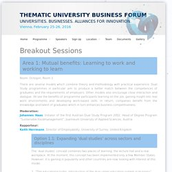University Business Forum Austria