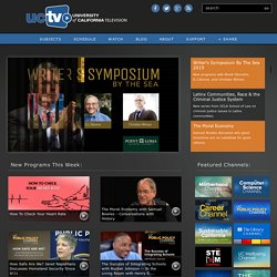 UCTV - University of California Television