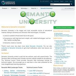 Semantic University
