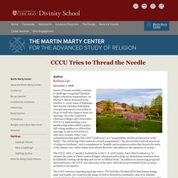 The University of Chicago Divinity School