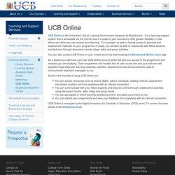 UCB Online - University College Birmingham