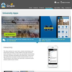 New University App to Expand Education Area