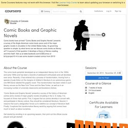 comic books and graphic novels