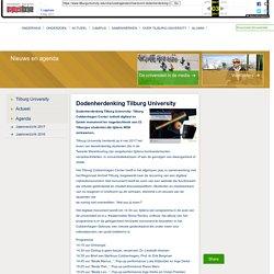 Tilburg University - Dodenherdenking Tilburg University