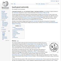Land-grant university
