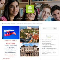 Things to Know Before Attending a Tuition-Free University – Need to Know Before Enrollment for Free Higher Education Europe