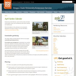 Northwest Gardening - OSU Extension Service