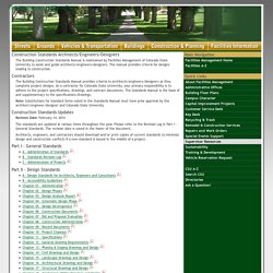 Colorado State University - Facilities Management