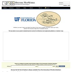 University of Florida at Historic Map Works