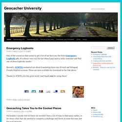 Geocacher University | Let's Go Geocaching!