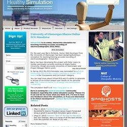 University of Glamorgan Shares Online ECG Simulator