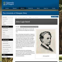 Biography of John Logie Baird