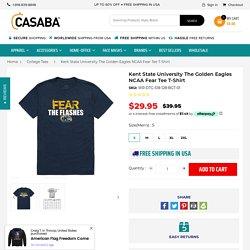 Kent State University The Golden Eagles NCAA Fear Tee T-Shirt – Casaba Shop