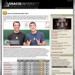 GRACIE UNIVERSITY: Global Gracie Jiu-Jitsu Instruction – Straight From The Source.