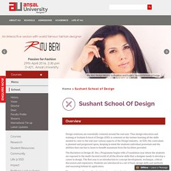 Ansal University - Best Interior Designing Colleges in Delhi