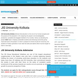 JIS University Kolkata - West Bengal Private University