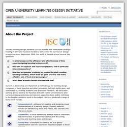 Open University Learning Design Initiative