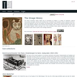 Ghent University Library Images