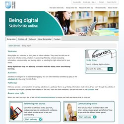 Open University Library Services | Being Digital