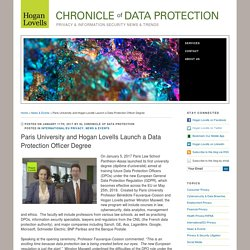 Paris University and Hogan Lovells Launch a Data Protection Officer Degree