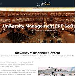 University & College Management ERP Software System Muscat Oman