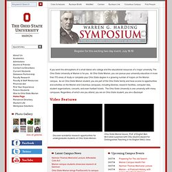 The Ohio State University at Marion | Do Something Great