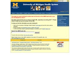 U of Michigan - Gross Anatomy - Surface Anatomy