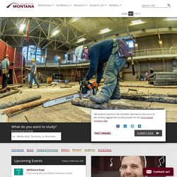 Future Students - The University Of Montana