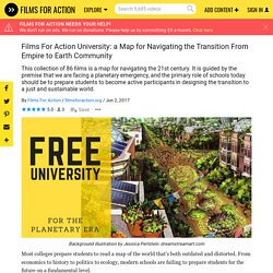 Films For Action University: a Map for Navigating the Transition From Empire to Earth Community