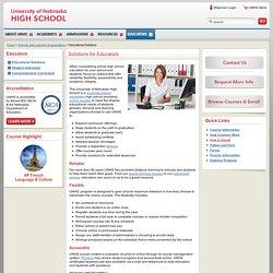 University of Nebraska High School
