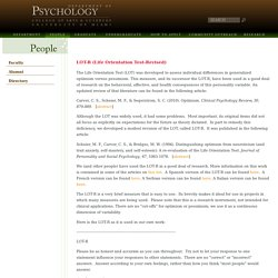 University of Miami, Psychology